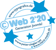 "Stempel ""Web 2'20"" by typografics-Peter Ziegler-Henz Media"